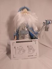 Ceramic Blue Bedroom Santa Adult Doll Toy Girl Boy Kid Toys Play Chirstmas