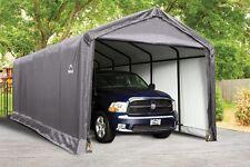 12x30x11 ShelterLogic Square Tube Max Strength Portable Garage Carport 62808