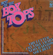 THE BOX TOPS - Best Of The Box Tops - Deleted 1971 UK 12-track vinyl LP