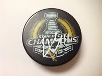 Eric Fehr Signed Autographed 2016 Pittsburgh Penguins Stanley Cup Hockey Puck a