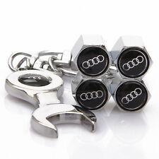 Cubierta de aire tallos Neumáticos Car Audi Tapas De La Válvula A1 A2 A3 A4 A5 A6 A7 Q3 Q5 Q7 S RS