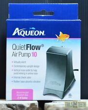 QuietFlow Air Pump 10  for Aquariums 2-10 US Gallons - Virtually Silent