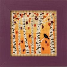 10% Off Mill Hill Autumn Series Counted X-stitch/Bead Kit - Autumn Woods