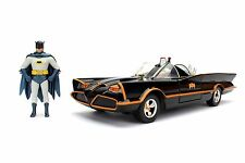 1/24 Jada Metals Classic TV Series 1966 Batmobile & Batman Robin Figures 98259