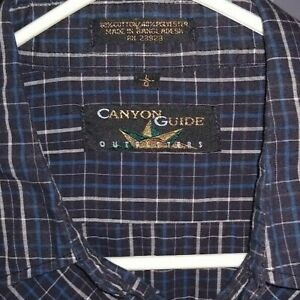 Men's  Canyon Guide   Western Pearl snap   shirt     Large  👌