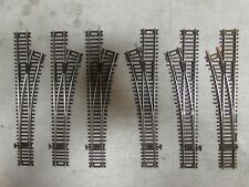 6 ATLAS NICKLE/SILVER SNAP SWITCHES CODE 83 HO SCALE  (LOT 3)