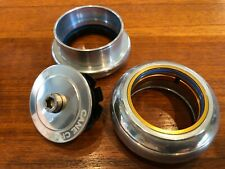 """NEW Cane Creek 110 headset (top / bottom), 49mm cups, for 1.5"""" steerer, silver"""