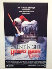 Silent Night, Deadly Night Theatrical Release 11x17 Movie Poster (1984)