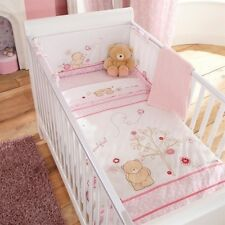Forever Friends Izziwotnot Baby Bedding Beautiful Pink Girls Cot Bed Quilt