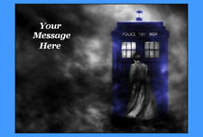 Dr Who cake topper edible icing image #830