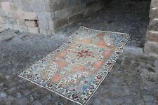 """Vintage Turkish Area Rug 6'11""""x4'3"""""""
