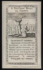 santino incisione 1600 S.CRISOGONO M.