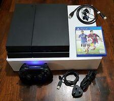Sony PlayStation 4 - 500 GB Jet Black Console