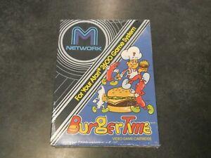 Burgertime - Atari 2600 - BRAND NEW, SEALED