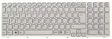 New Sony VaioSVE151 UK White Keyboard149032911GB AEHK5E001303AV133846BK1UK