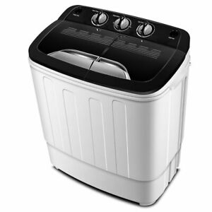 Portable Washing Machine TG23 – Twin Tub Washer Machine with Wash and Spin Cycle