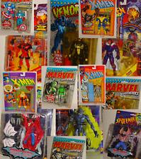 Marvel Super Heroes & X Men Action Figures In Blisrer Mai Giocati