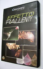 Effetto Rallenty DVD Documentario Discovery Channel 88 min ita ing