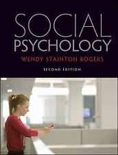 Social Psychology: By Wendy Stainton Rogers