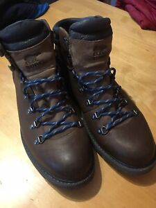 SOREL Madson 11 Hiker Waterproof Boot - SIZE UK 11 Leather