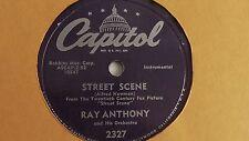 Ray Anthony - 78rpm single 10-inch – Capitol #2327 Street Scene