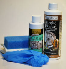 Liquid Silver Plating System WITH Tarnish Blocker included - NEW
