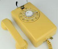Vintage Antique Telephone Model 554 - Harvest Gold - Fully Refurbished -21482