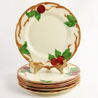 "Franciscan Apple California Dinner Plates 10 1/2"" Earthenware Set of 6"
