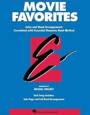 """ESSENTIAL ELEMENTS-MOVIE FAVORITES FOR """"BARITONE B.C."""" MUSIC BOOK BRAND NEW SALE"""