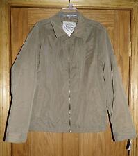 NWT Mens St.John's Bay maverick brown coat- jacket size Med. Orig. $100.00