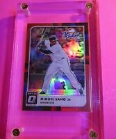 Miguel Sano 2016 Donruss Optic The Rookies Red #d 48/99 #5 Minnesota Twins RC