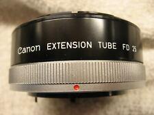 CANON FD EXTENSION TUBE 25