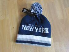 City Hunter Usa Nueva York NUEVA YORK Bobble Sombrero Nuevo Con Etiquetas Tamaño Adulto Osfa