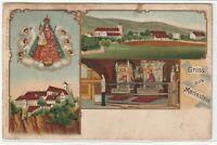 Ansichtskarte Gruss aus Mariastein - Ortsansicht/Schloss/Burg - Litho 1907 RAR