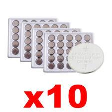 a batterie bottone 10 pile Lotto CR 2016 CR2016 3V Litio Lithium Battery kp