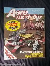 AERO MODELLER - PARNALL PIXIE - JAN 1982
