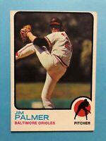 1973 Topps Jim Palmer Card #160 Baltimore Orioles