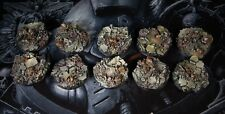 10 x 40mm Round  Scenic Resin Bases / Warhammer