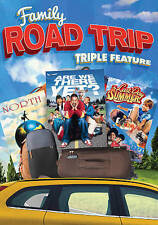 Family Road Trip Triple Feature: North/Are We There Yet/Last Day of Summer (DVD,