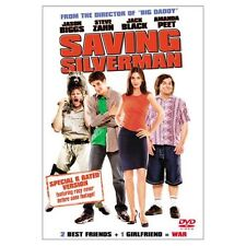 Saving Silverman Special R Rated Version On DVD with Jack Black Disc Only X65