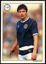 Graeme sharp #176 saint et greavsie topps football trade card (C223)