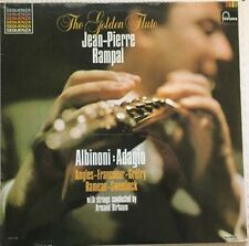 JEAN-PIERRE RAMPAL –THE GOLDEN FLUTE- RARE MEXICAN LP STILL SEALED CLASSICAL