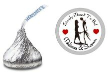 NIGHTMARE BEFORE CHRISTMAS HERSHEY KISS KISSES LABELS STICKERS WEDDING FAVORS