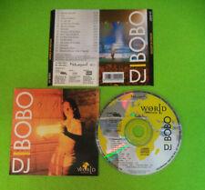 CD DJ BOBO World In Motion 1996 Europe EAMS EAMS4000-2 no lp dvd mc (CS29)
