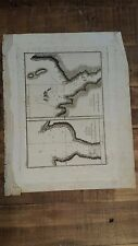Circa 1781 J.Cook & Duff Map - Cook's Voyages -Kerguelen'S Land/S. Indian Ocean
