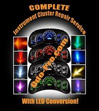Instrument Cluster / Speedometer LED COLOR Light Change UPGRADE + Full Repair