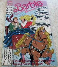 Barbie 2, (NM- 9.2) 1991, Marvel, 33% off Guide! One horse open sleigh cover!