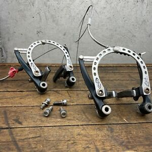 Vintage Avid Arch Rival Brakes Caliper Set V-Brake Mountain Touring Bike MTB
