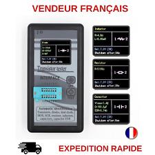 TESTEUR DE COMPOSANTS TRANSISTORS DIODES RESISTANCES CONDENSATEURS LCD
