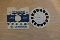 Viewmaster Reel 1150 Wales 1 1957 made in USA rare